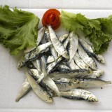 Dried steam small Herring